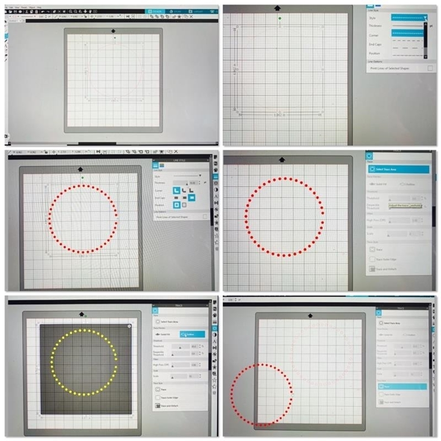 How to create a dotted line in Silhouette Studio