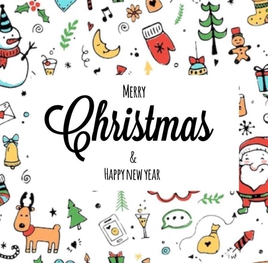 Merry Christmas & Happy New Year 🎄🎁