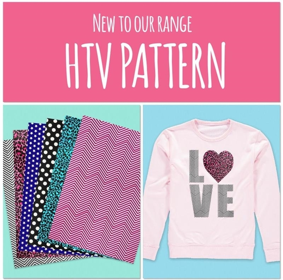 HTV Pattern is New for 2021! 🎉