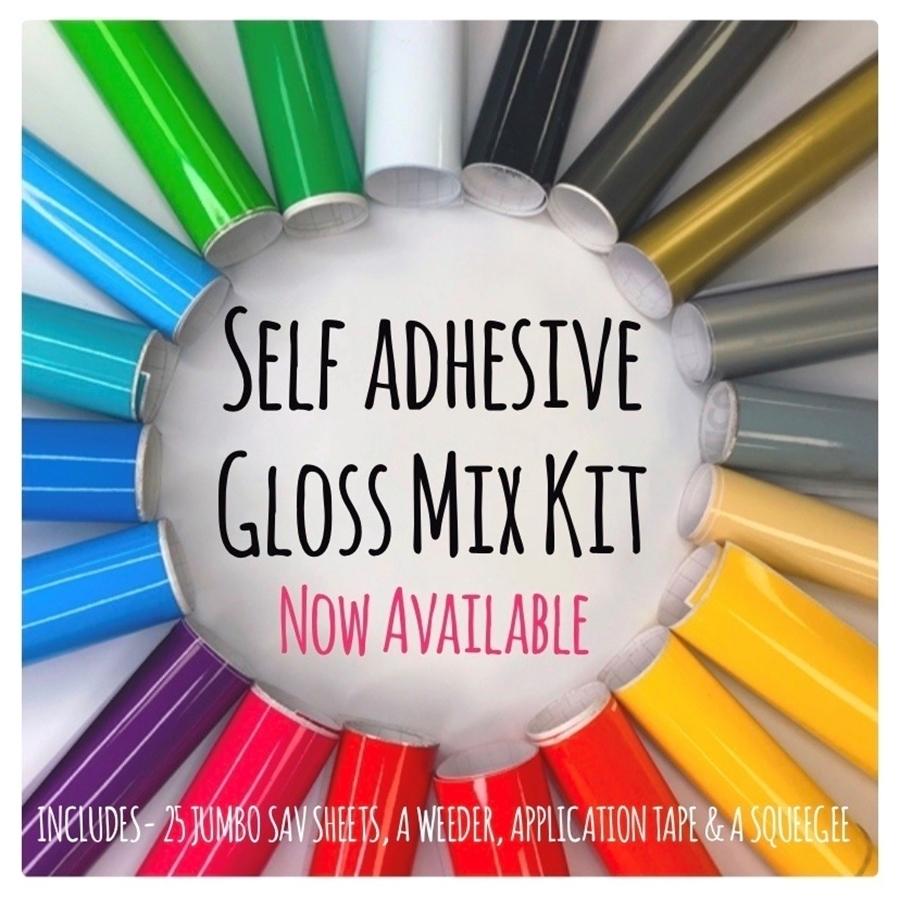 Self Adhesive Vinyl Gloss Mix Kits Now Available!