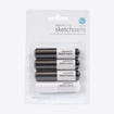 Picture of Silhouette Black and White Pen Pack For Cameo Cutter