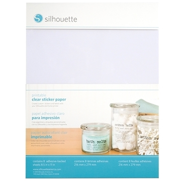 Picture of Silhouette Printable Sticker Paper