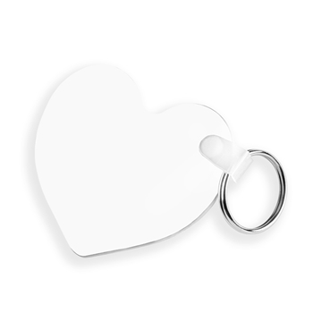 Picture of Unisub Heart Key Ring - 55mm High