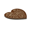 Picture of Heart Coaster Cork Back