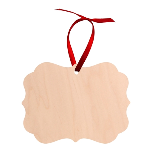 Picture of Unisub Natural Wood Ornament Benelux