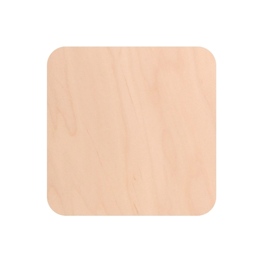 Picture of Unisub Square Natural Wood Magnet