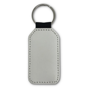Picture of PU Key Ring - Single Sided Round 5cm