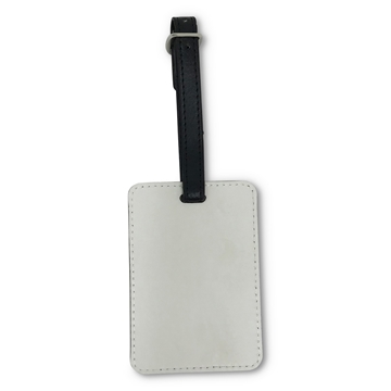 Picture of PU Key Ring - Single Sided Rectangle 4 x 7.5cm