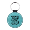 Picture of PU Leather Effect Key Ring Single Sided - Round