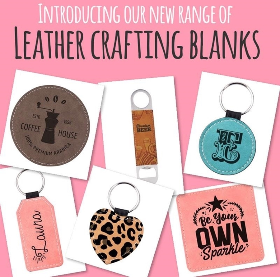 NEW Leather Crafting Blanks 💕