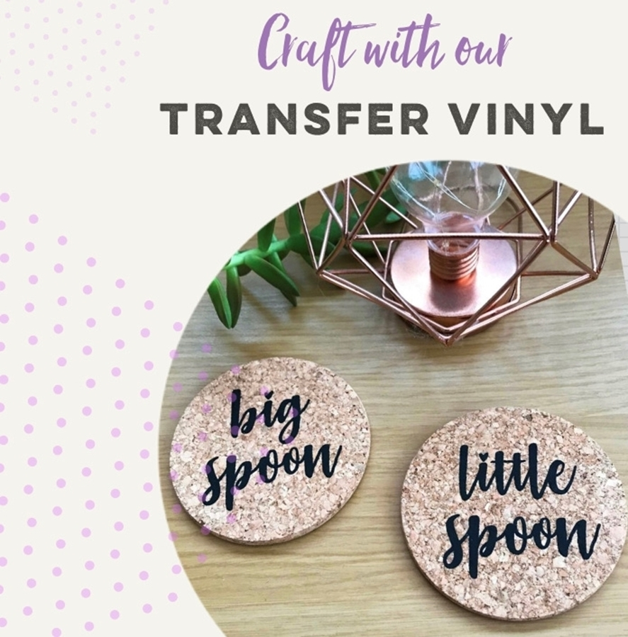 Crafting With Our Transfer Vinyls 🎨