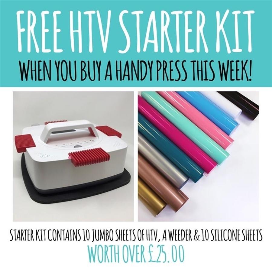 Free HTV Starter Kit!