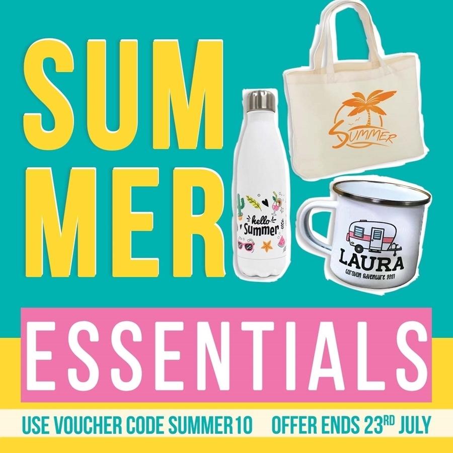 10% off Summer Essentials