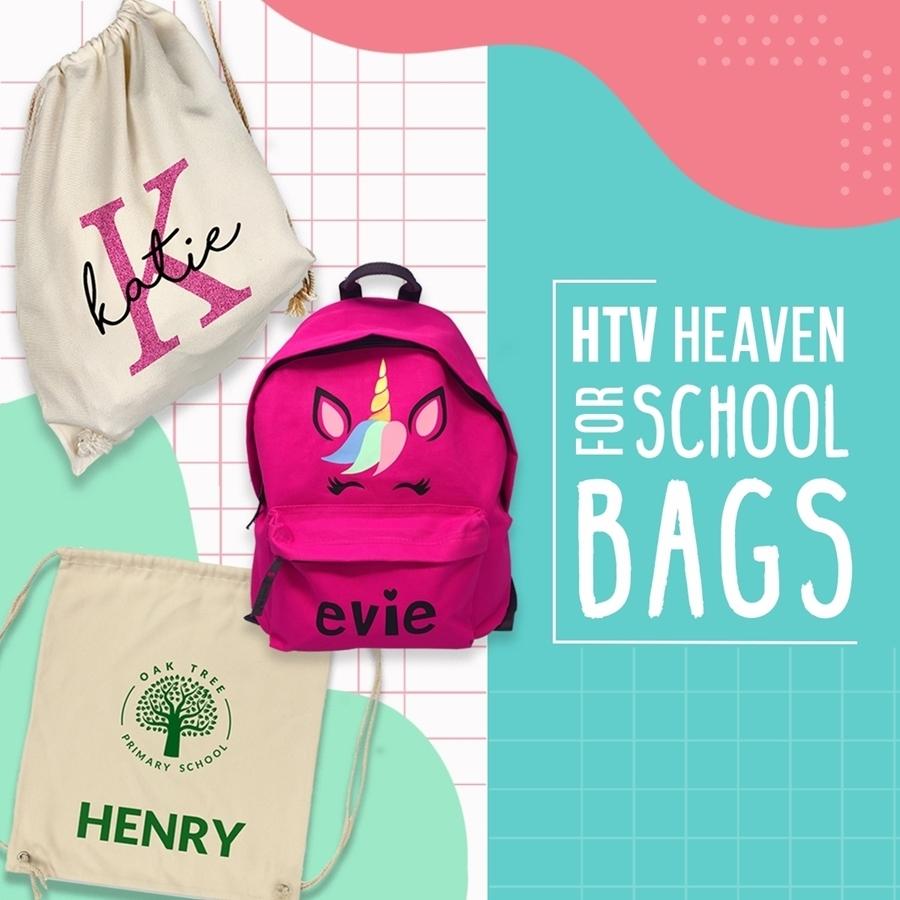 🎒 HTV Heaven for School Bags 🎒