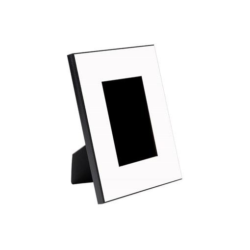 """Picture of Unisub MDF Gloss White Picture Frame - 4""""x 6"""""""
